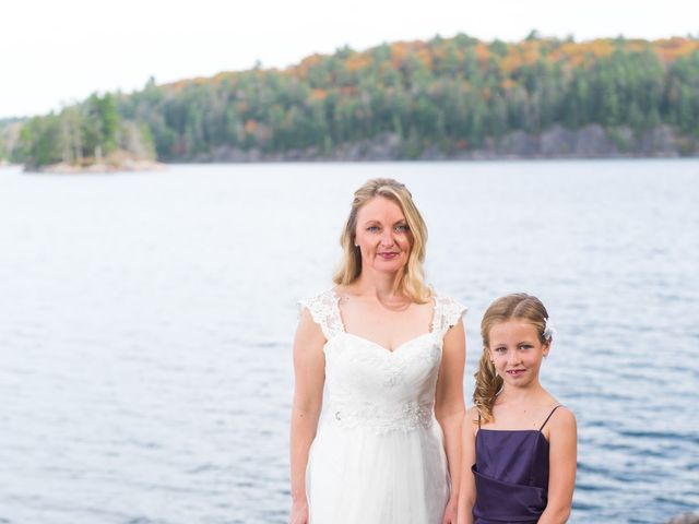 Jeff and Laura's wedding in Algonquin Highlands, Ontario 69