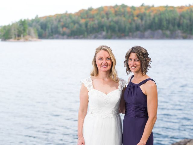 Jeff and Laura's wedding in Algonquin Highlands, Ontario 70