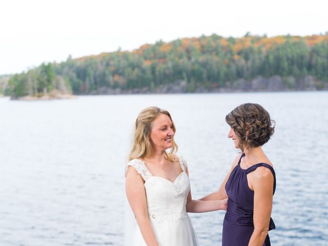 Jeff and Laura's wedding in Algonquin Highlands, Ontario 71