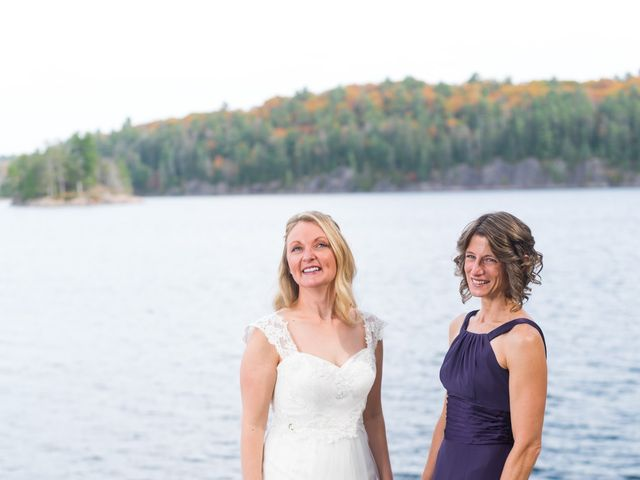 Jeff and Laura's wedding in Algonquin Highlands, Ontario 72