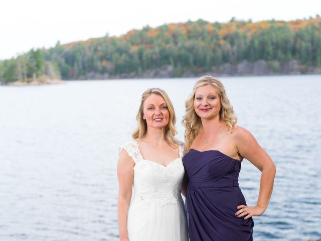 Jeff and Laura's wedding in Algonquin Highlands, Ontario 73