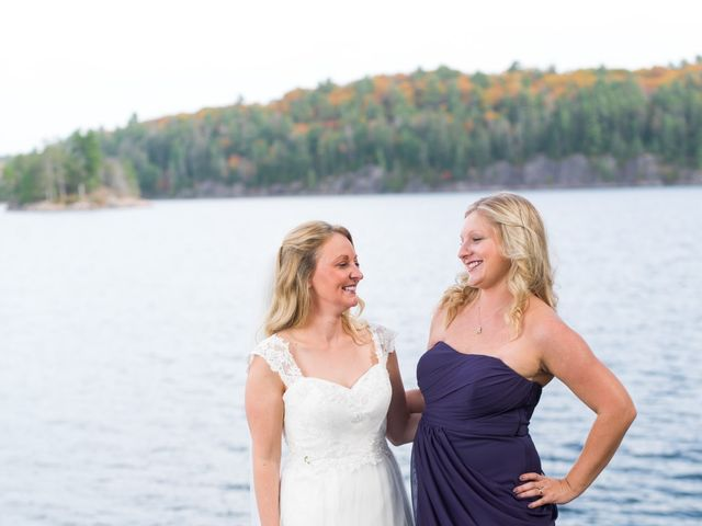 Jeff and Laura's wedding in Algonquin Highlands, Ontario 74