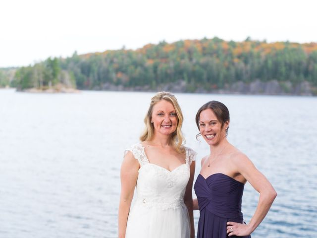 Jeff and Laura's wedding in Algonquin Highlands, Ontario 76