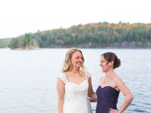 Jeff and Laura's wedding in Algonquin Highlands, Ontario 77