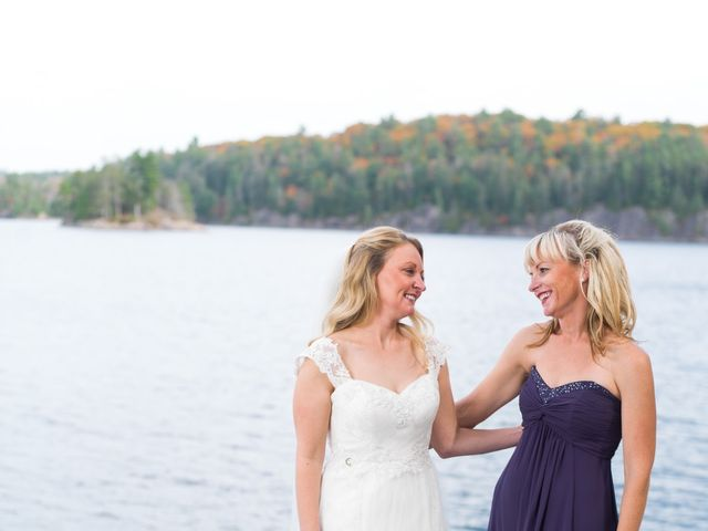 Jeff and Laura's wedding in Algonquin Highlands, Ontario 78