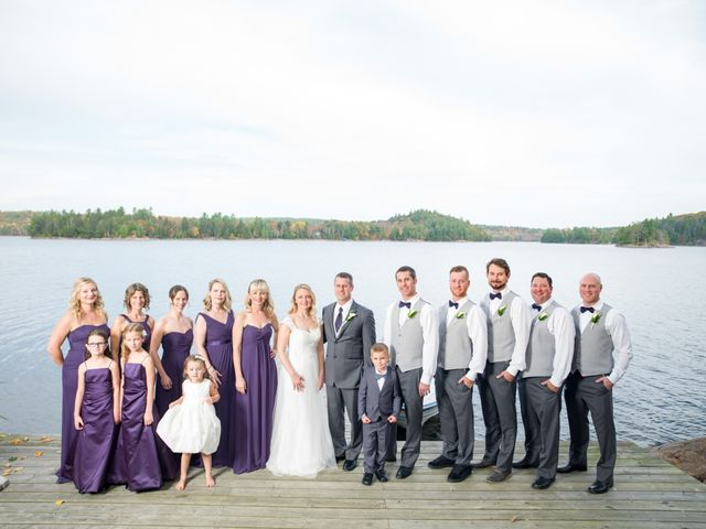 Jeff and Laura's wedding in Algonquin Highlands, Ontario 79