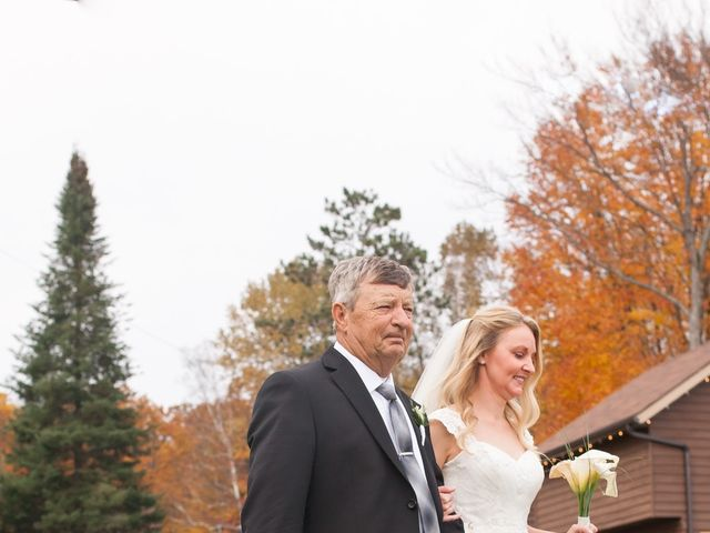 Jeff and Laura's wedding in Algonquin Highlands, Ontario 85