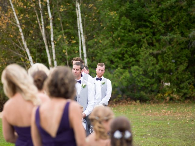 Jeff and Laura's wedding in Algonquin Highlands, Ontario 90