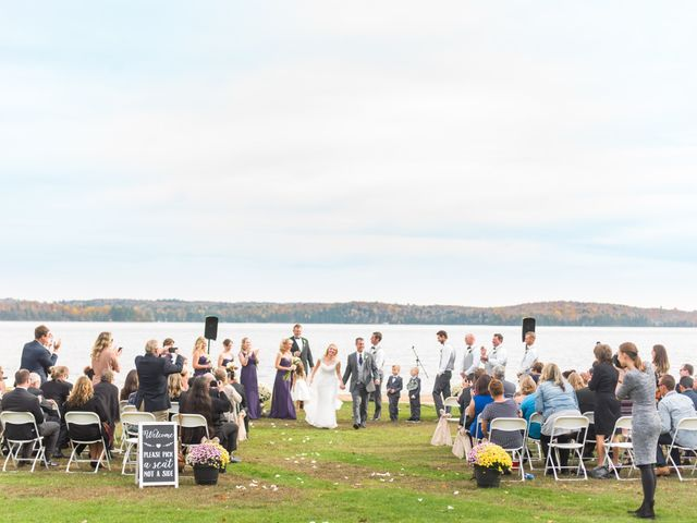 Jeff and Laura's wedding in Algonquin Highlands, Ontario 101