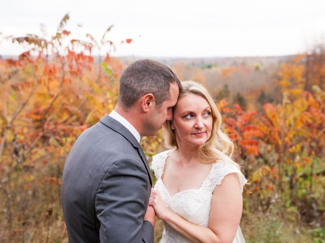 Jeff and Laura's wedding in Algonquin Highlands, Ontario 108