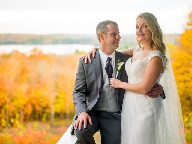 Jeff and Laura's wedding in Algonquin Highlands, Ontario 110