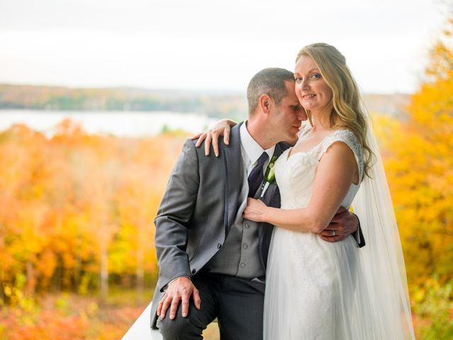 Jeff and Laura's wedding in Algonquin Highlands, Ontario 111