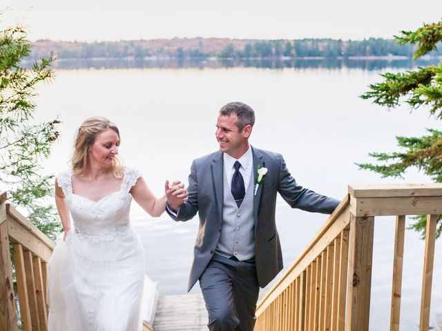 Jeff and Laura's wedding in Algonquin Highlands, Ontario 119