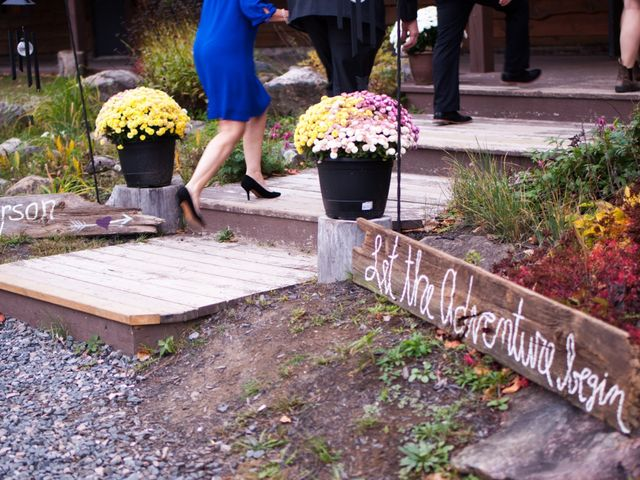 Jeff and Laura's wedding in Algonquin Highlands, Ontario 121