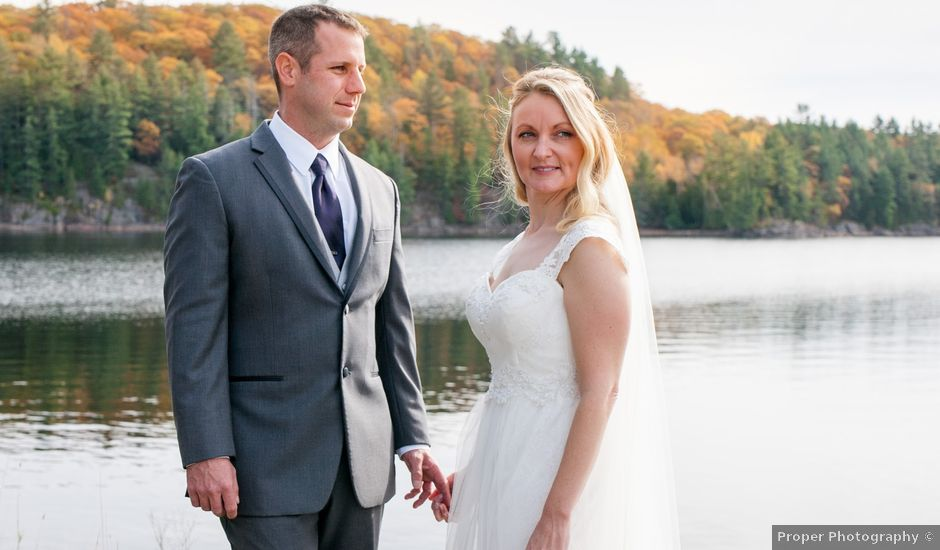 Jeff and Laura's wedding in Algonquin Highlands, Ontario