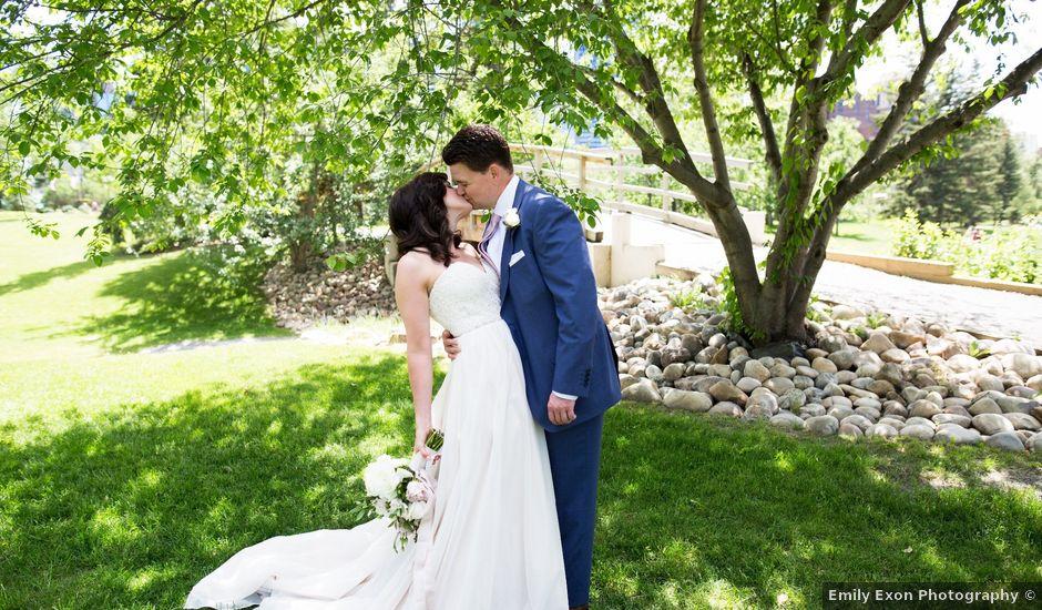 Ryan and Stacey's wedding in Calgary, Alberta
