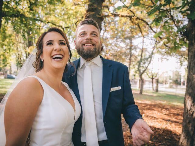 Lindsey and Geoff's wedding in Windsor, Ontario 1