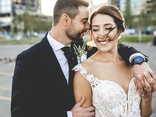 The wedding of Karlee and Chris