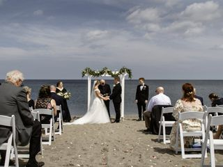The wedding of Olivia  and Frank 2