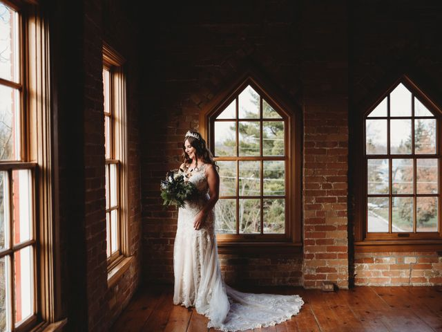 Steve and Beth's wedding in Alliston, Ontario 4