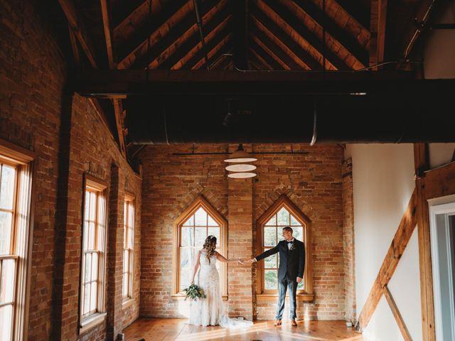 Steve and Beth's wedding in Alliston, Ontario 1