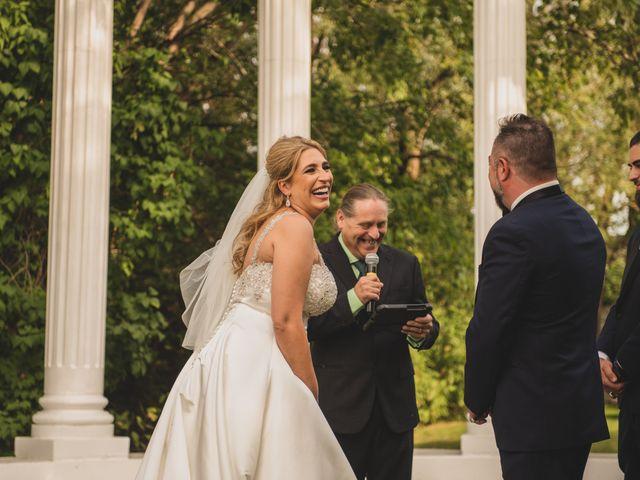 The wedding of Stephanie and Rene