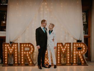The wedding of Geoff and David