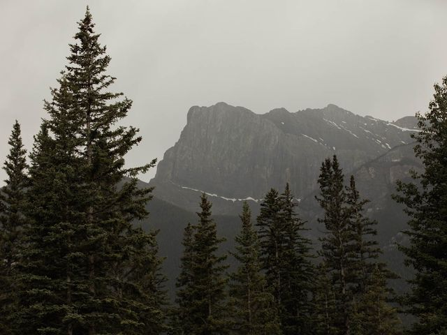 Dysin and Brittney's wedding in Canmore, Alberta 3