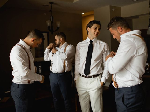 Dysin and Brittney's wedding in Canmore, Alberta 26