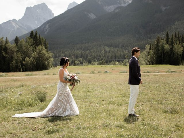 Dysin and Brittney's wedding in Canmore, Alberta 40