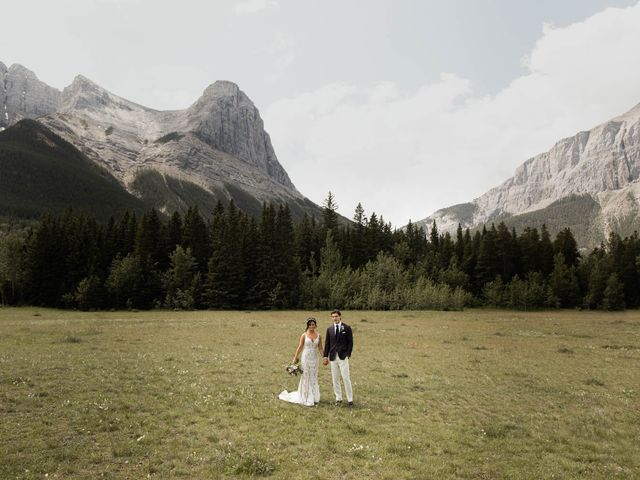 Dysin and Brittney's wedding in Canmore, Alberta 44