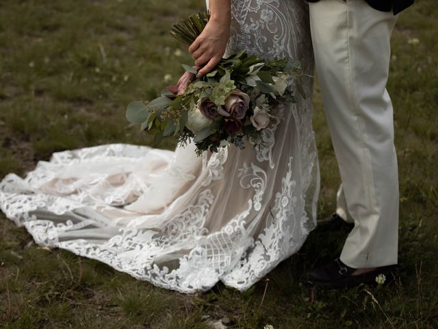 Dysin and Brittney's wedding in Canmore, Alberta 45