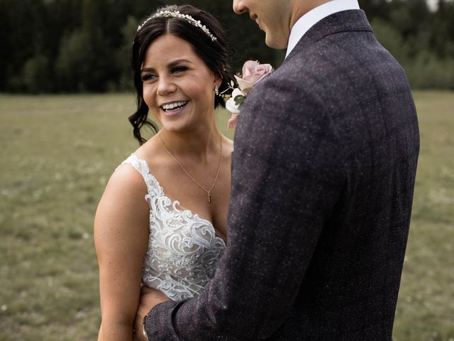 Dysin and Brittney's wedding in Canmore, Alberta 46