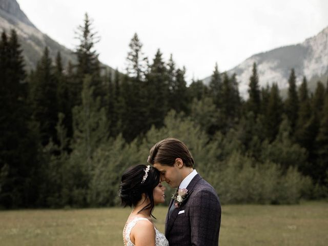 Dysin and Brittney's wedding in Canmore, Alberta 47