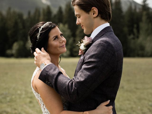 Dysin and Brittney's wedding in Canmore, Alberta 48