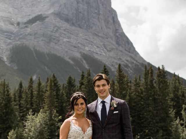 Dysin and Brittney's wedding in Canmore, Alberta 50