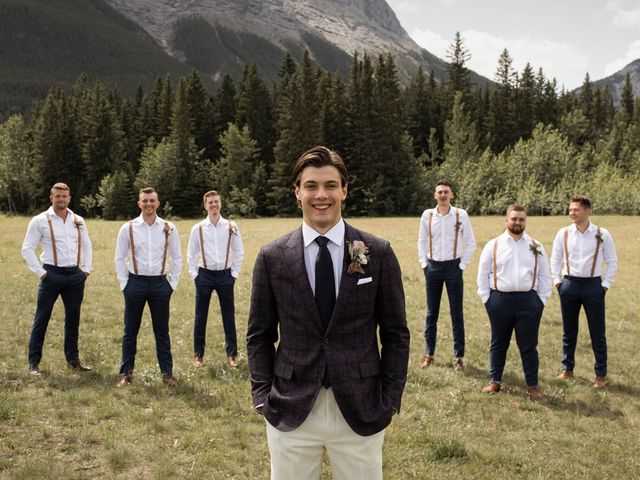 Dysin and Brittney's wedding in Canmore, Alberta 51