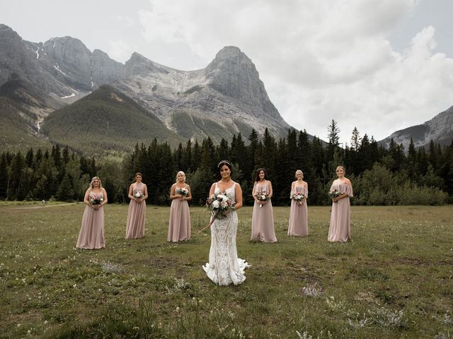 Dysin and Brittney's wedding in Canmore, Alberta 52