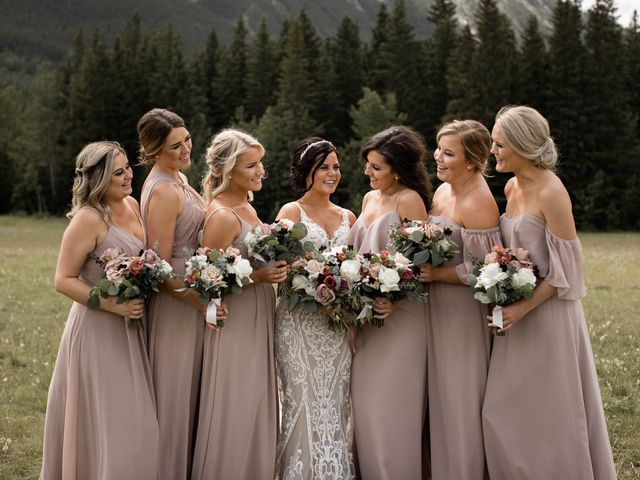 Dysin and Brittney's wedding in Canmore, Alberta 53