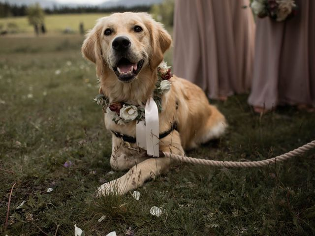 Dysin and Brittney's wedding in Canmore, Alberta 57