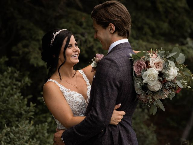 Dysin and Brittney's wedding in Canmore, Alberta 69