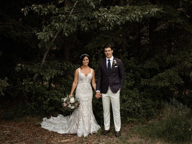 Dysin and Brittney's wedding in Canmore, Alberta 70