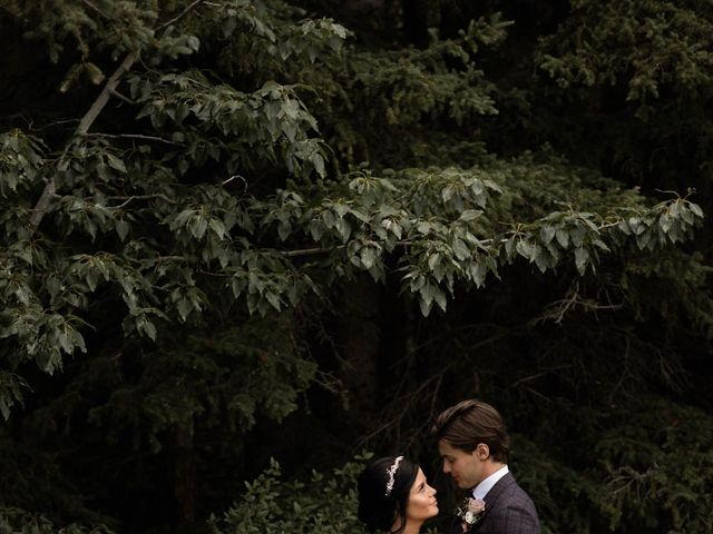 Dysin and Brittney's wedding in Canmore, Alberta 75