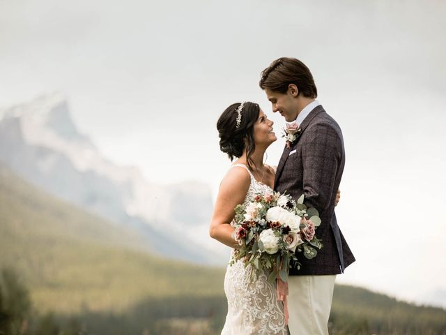 Dysin and Brittney's wedding in Canmore, Alberta 81