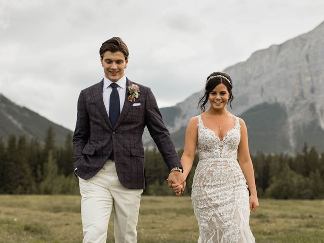 Dysin and Brittney's wedding in Canmore, Alberta 2