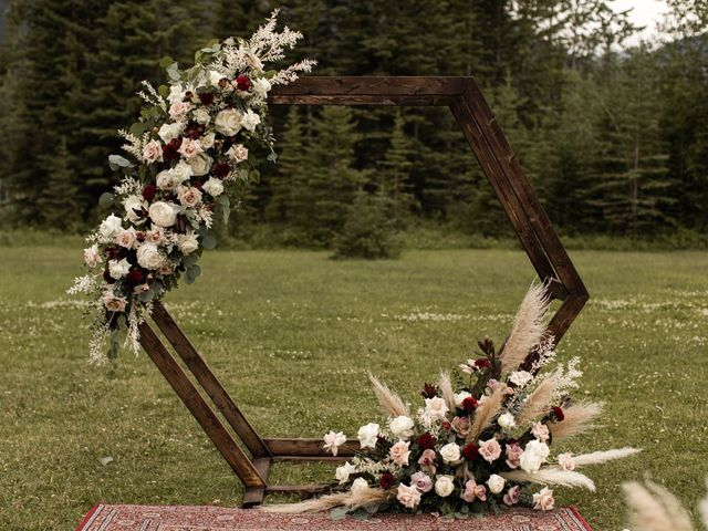 Dysin and Brittney's wedding in Canmore, Alberta 103