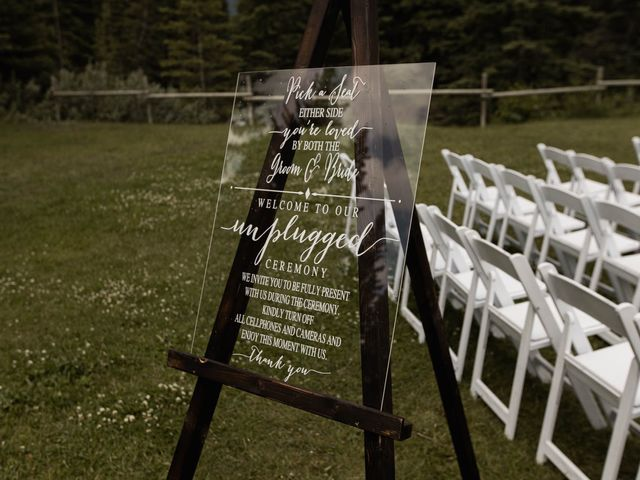 Dysin and Brittney's wedding in Canmore, Alberta 105