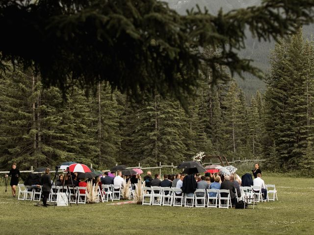 Dysin and Brittney's wedding in Canmore, Alberta 110