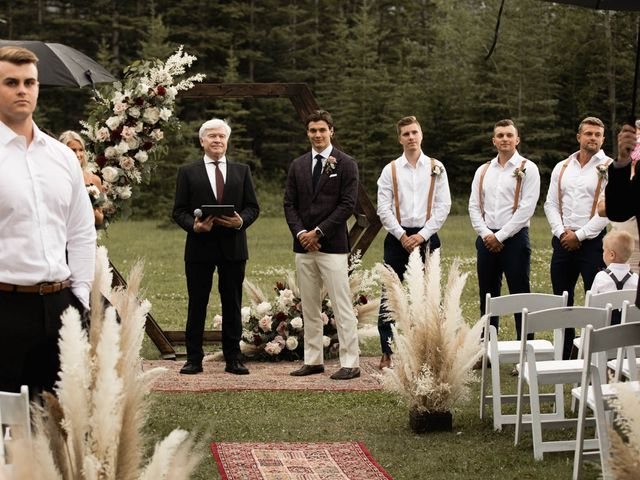 Dysin and Brittney's wedding in Canmore, Alberta 113