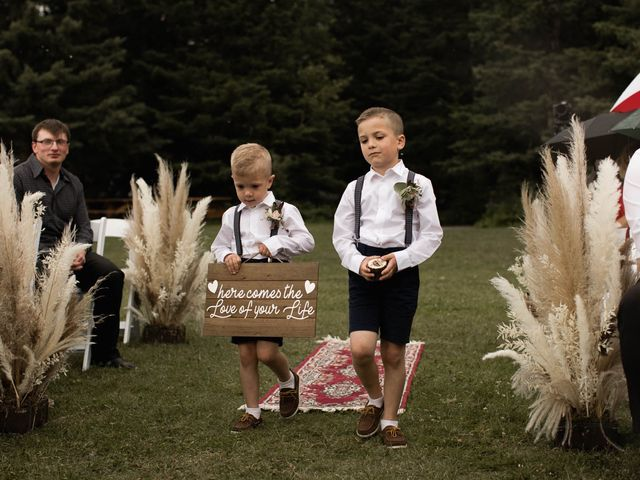 Dysin and Brittney's wedding in Canmore, Alberta 115